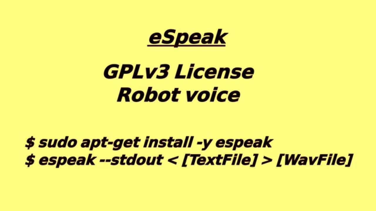 Review: Text to speech on linux