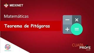 TEOREMA DE PITÁGORAS   #CuapaProfe