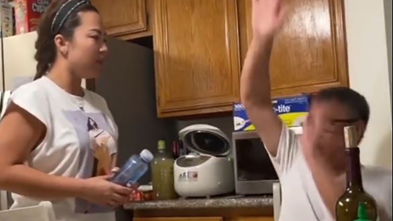 Pissing my wife dad to see his hilarious reaction. Credit Tiktok @moontellthat