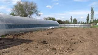 видео: Строительство теплицы. Фаза №1