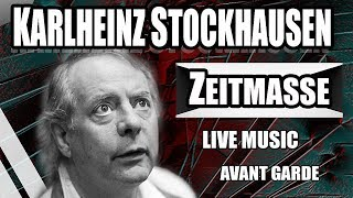 Download KARLHEINZ STOCKHAUSEN: ZEITMASSE (LIVE AT THE HELSINKI SUBWAY STATION 15th OCT 2017) MP3 song and Music Video