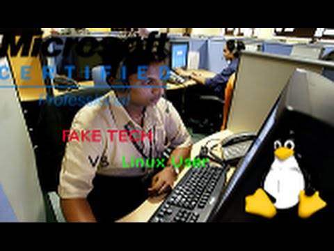 India Scammer Vs Linux User