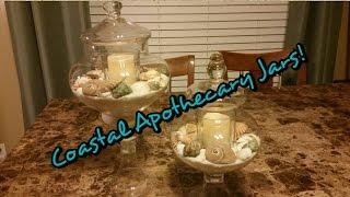 Coastal Apothecary Jars