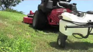 New Directional Lawn Sprayer - Folds For Easy Storing!