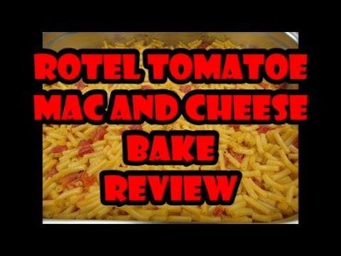 Zesty Rotel Mac and Cheese Bake - An OFW Cooking and Food Review Video