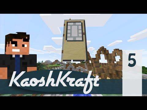 "Minecraft KaoshKraft SMP - Episode 5: ""The Door to HELL!"""