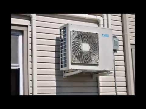 Ductless Air Conditioning: Daikin AC, Fujitsu, Mitsubishi, Heat Pump Heating & cooling