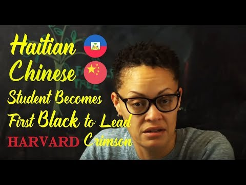Chinese-Haitian Immigrant Becomes  First
