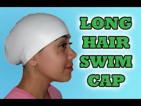 Long Hair + Swimcap   Conehead  5830027aa
