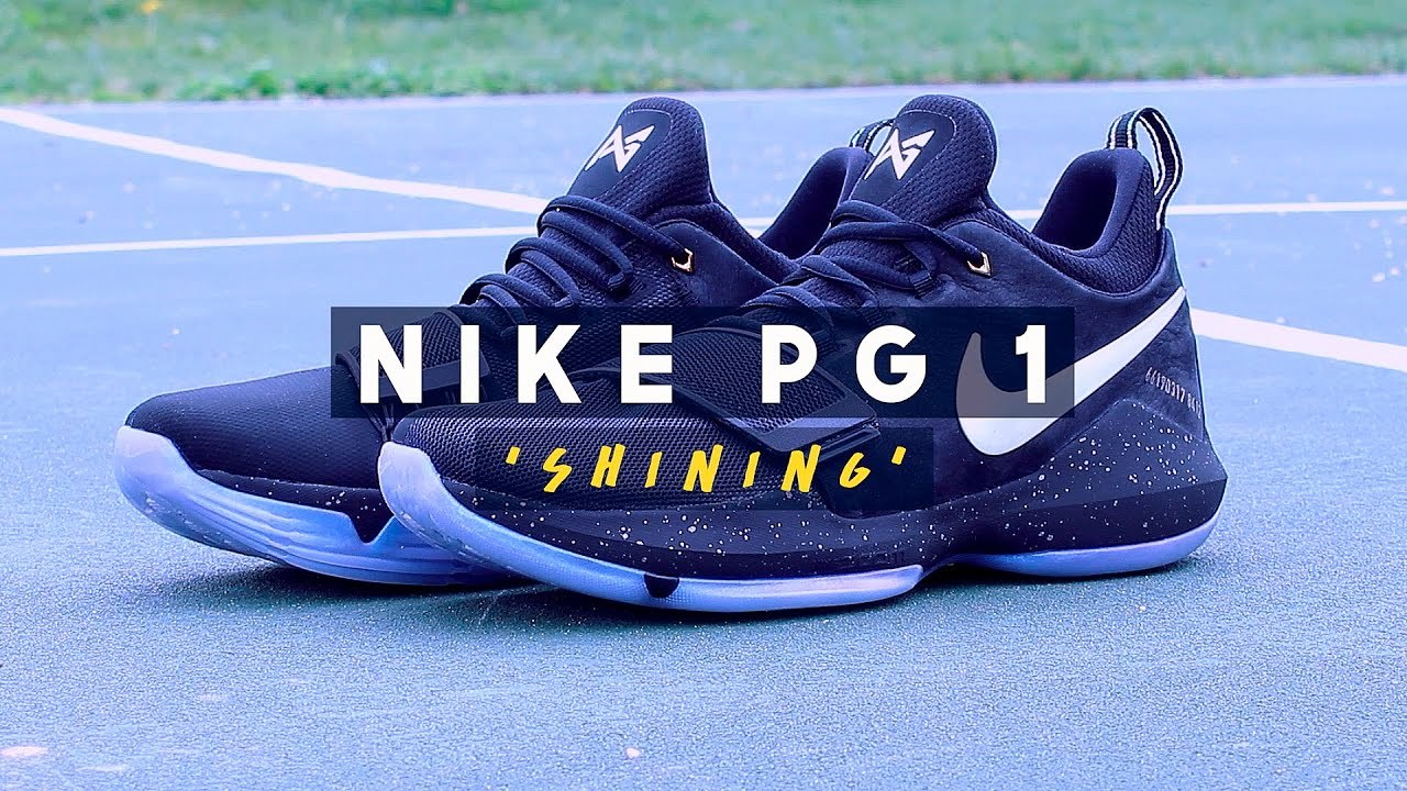 Nike PG 1  Shining   Pre-Heat  - First Impressions - YouTube d268b1261