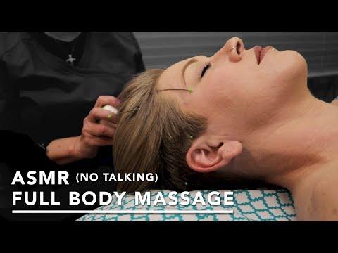 ASMR (No Talking) Full Body Swedish Massage