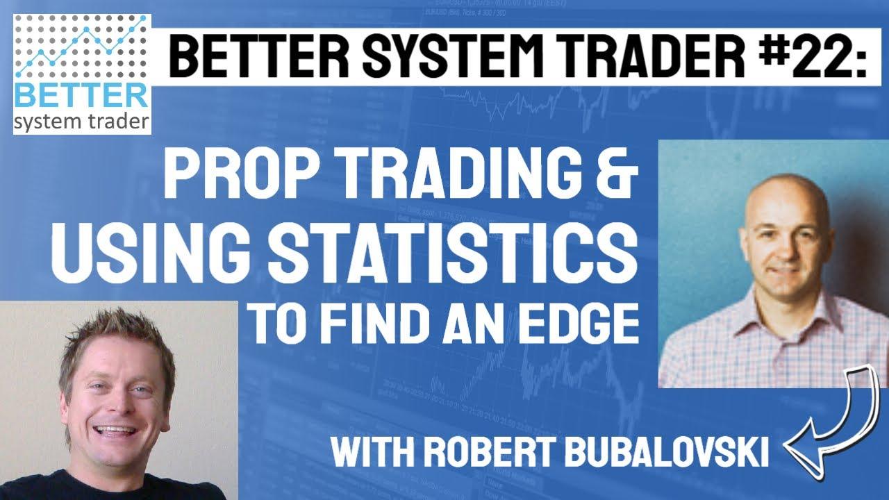 022  robert bubalovski discusses prop trading  arbitrage
