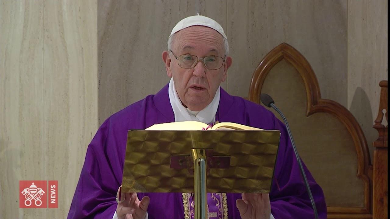 O Papa reza por aqueles que têm dificuldades econômicas devido ao coronavírus