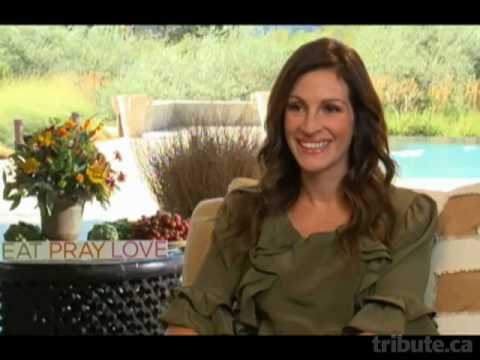 Julia Roberts: Eat Pray Love Interview