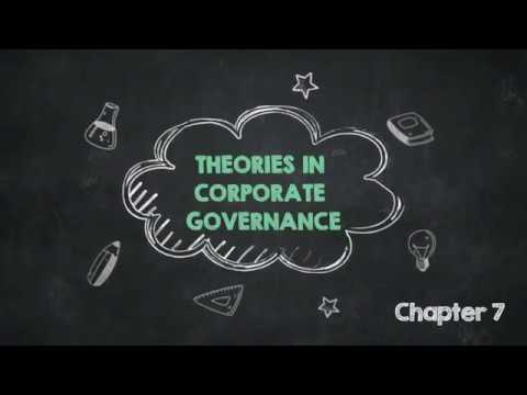 Theories In Corporate Governance  -  Chapter 7