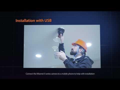Wisenet X Series Installation USB_Hanwha Techwin