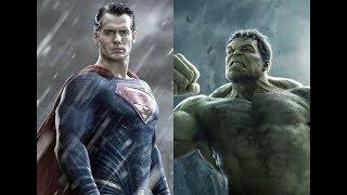 Hulk vs Superman Full Fight Battle Marvel VS DC Fanmade