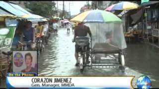 NewsLife Interview: Corazon Jimenez, GM MMDA - Update on flooded areas in Metro Manila