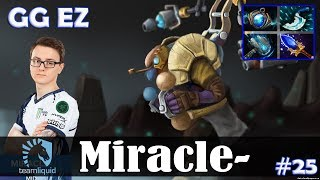 Miracle - Tinker MID | GG EZ | Dota 2 Pro MMR Gameplay #25