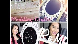 Diy Wedding Projects ♥ Mr&mrs Sign ♥ Chalkboard Sign ♥