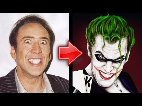 Nicolas Cage Talks Playing The Joker