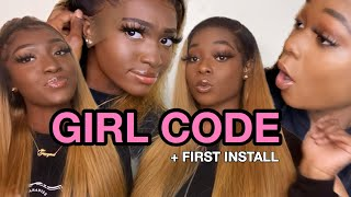 GIRL CODE + OUR FIRST EVER WIG INSTALL FT. AFFORD HAIR