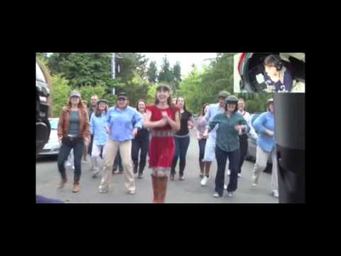 Isaac's Live Lip Dub Proposal[Bruno Mars - Marry You]