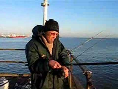 Fishing On Canvey Black Jetty