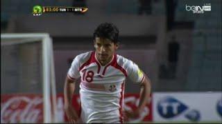 هدف سعد بقير من مخالفة مباشرة امام موريتانيا - تصفيات كأس العالم روسيا 2018 (تونس 2-1 موريتانيا)