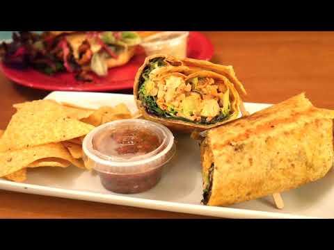 First time eating Vegan food at 24 Carrots Vegan Restaurant - Tempe AZ