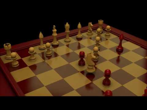Animated Chess in 3DS Max (Amateur)
