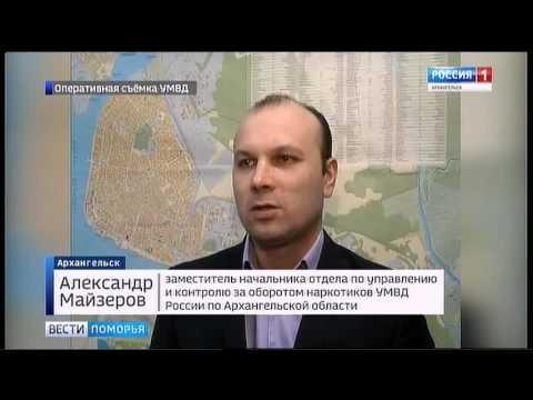 Крупной наркосделке в Архангельске помешали сотрудники полиции