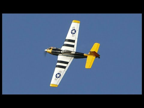 Hangar9 P51 Mustang Pts Mk1 The Flight Youtube