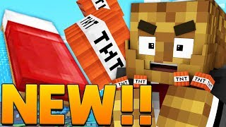 Minecraft: TNT LUCKY BLOCK BEDWARS w/ PopularMMOs - Modded Mini-Game