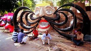 How Rawan Is Made😱😱 | Cheapest Rawan Market | DELHI