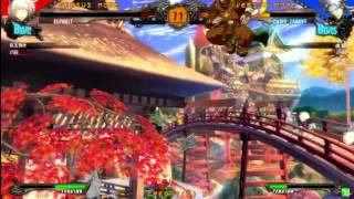 2015/11/14 GGXrdR Mikado stream - Endou(CH) matches