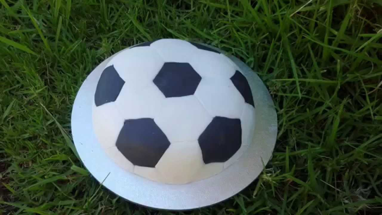 Soccer Ball Cake Tutorial YouTube