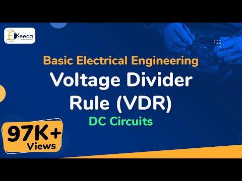 Voltage Divider Rule (VDR) - DC Circuits - Basic Electrical Engineering - First Year | Ekeeda.com
