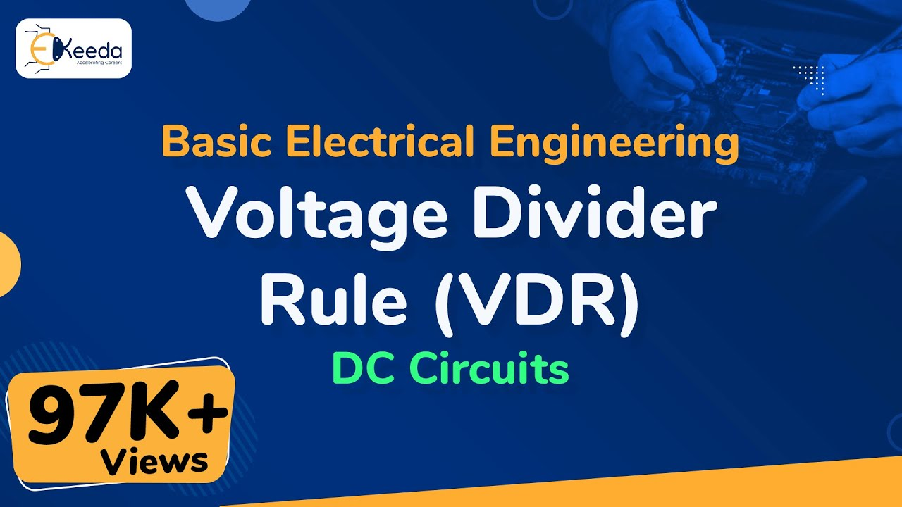 Voltage Divider Rule Vdr Dc Circuits Basic Electrical Below Is A Current Circuit With Source Engineering First Year Ekeedacom