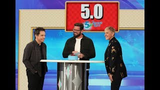 Ben Stiller and Ellen Play '5 Second Rule'