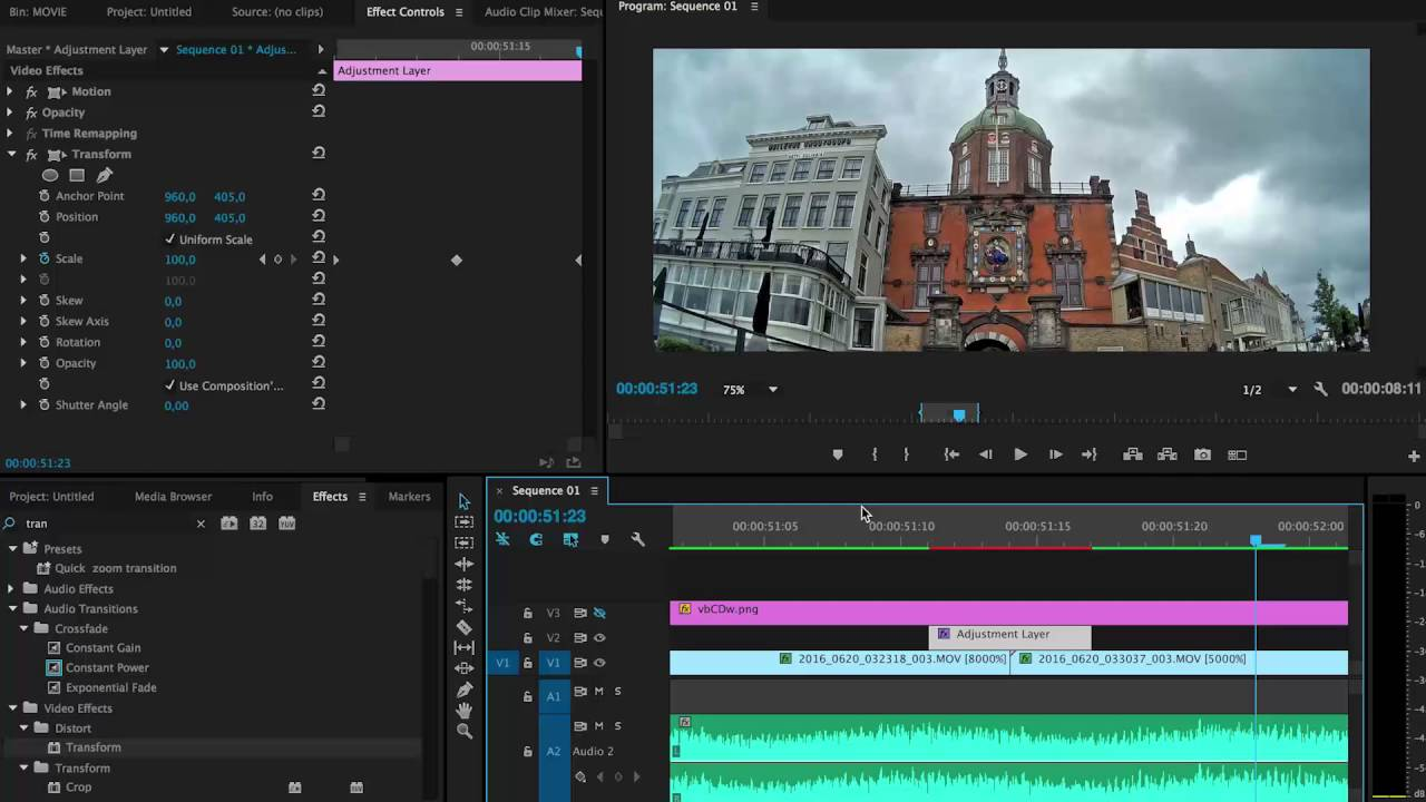 Premiere Pro: Better Cross Zoom transition by Chung Dha