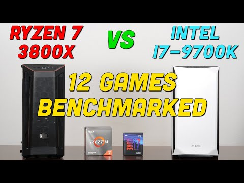 Which 8 Core CPU Should You Buy? — Ryzen 7 3800X Vs I7-9700K — 12 Games Benchmarked