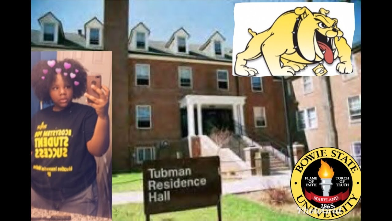 College Dorm Tour Bowie State University Youtube
