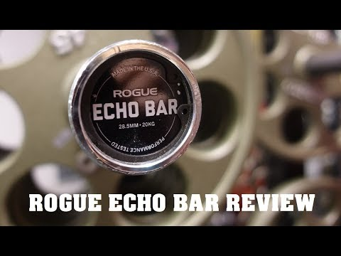 ROGUE FITNESS ECHO BARBELL 2.0 REVIEW   WORKOUT