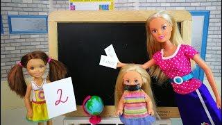 ПОЧЕМУ ПОДРУГА ПРОМОЛЧАЛА? Мультик #Барби Школа Игры в Куклы Для девочек