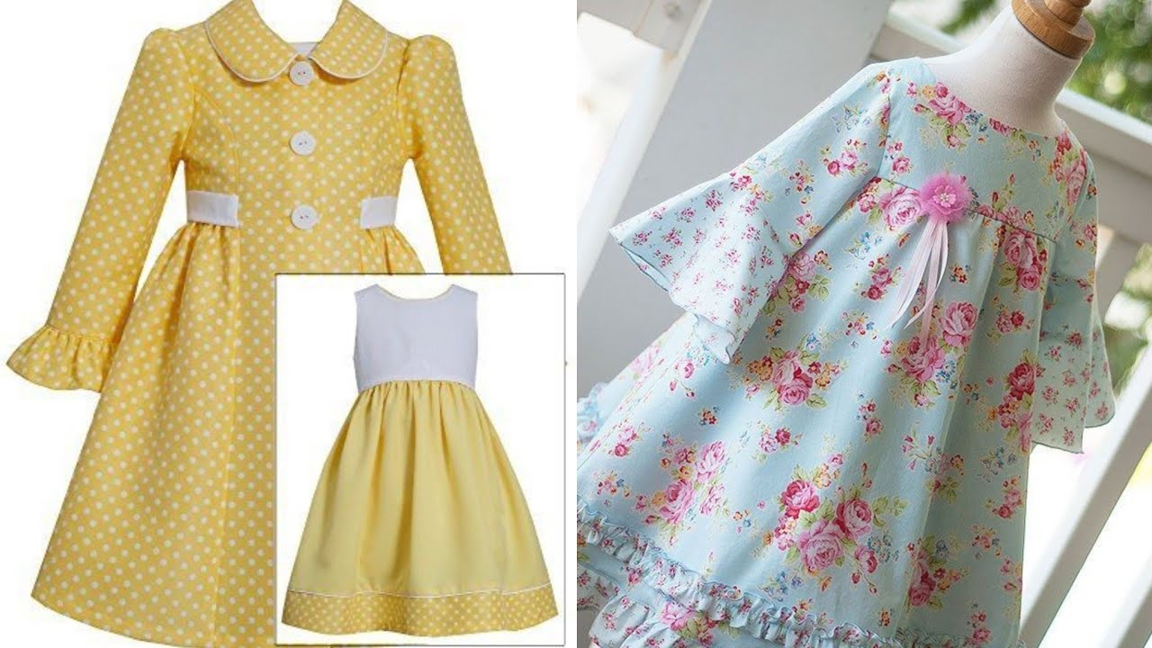 Summer Ideas For Kids 2019 Summer Outfits collection For Babies 2019/Kids Dress Design Ideas