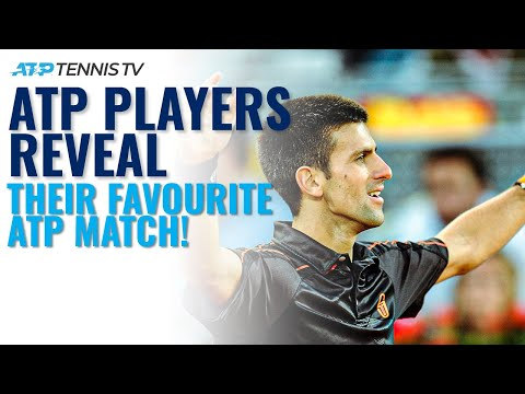 ATP Players Reveal Favourite Tennis Match They've Played!   Part 1