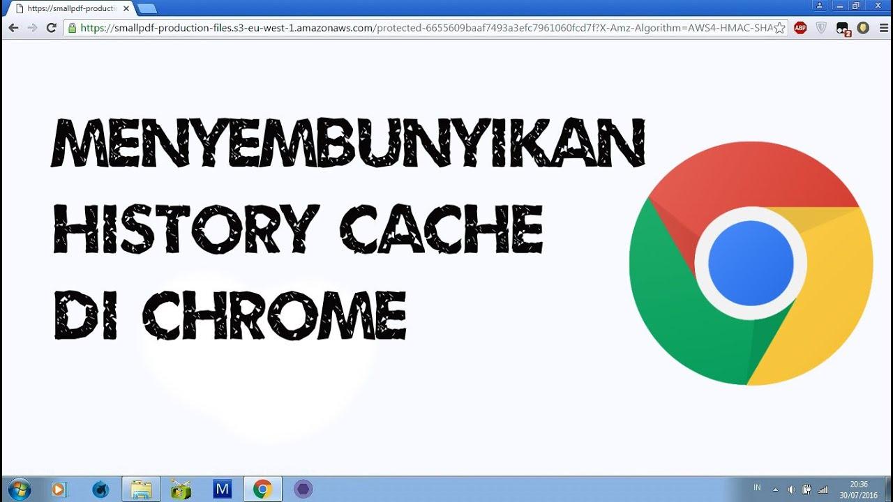 cara menghilangkan history di google chrome android