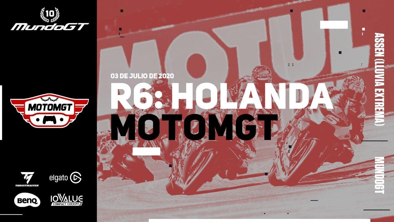 MundoGT #MotoMGT - MotoGP 20 - R6: Holanda