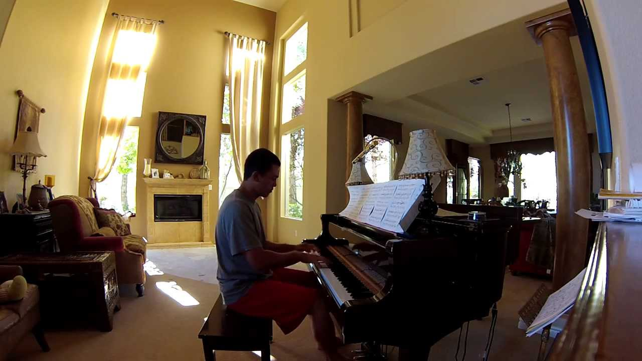 david foster winter games piano cover by brandon wulff. Black Bedroom Furniture Sets. Home Design Ideas